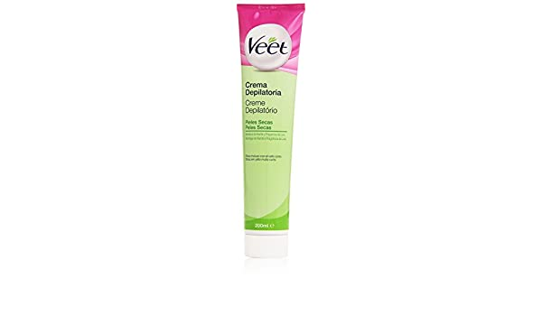 Veet - Crema Depilatoria - Pieles secas - 200 ml: Amazon.es: Belleza