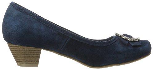 Herten Kogel Dames Pumps 3004504 Blauw (donker Blauw)