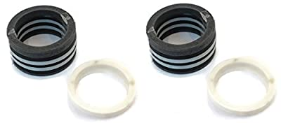"(2) Snow Plow 1.5"" Packing Seal Kits for Boss, Meyer, Fisher, Western Cylinder Ram Hydro Actuator"