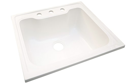 Design House 557686 Laundry Sink, 25 22-inches, Solid White