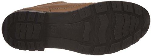 Id Heren Lederen Sneakers Tan