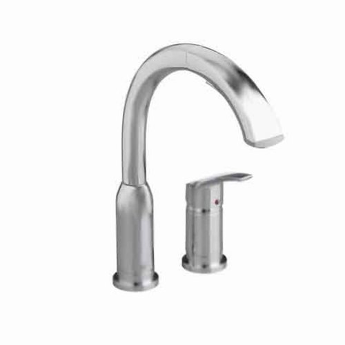 American Standard 4101.350.075 Arch Pull Out Brass body and Swivel Spout Kitchen Faucet, Stainless Steel