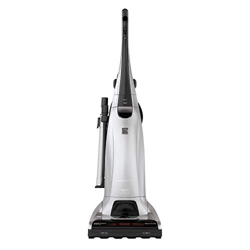 Kenmore Elite 31150 Pet Friendly Bagged Upright Beltless Vacuum w/Pet Handi-Mate, Triple HEPA, 3D Inducer Motor, Telescoping Wand, 5-Position Height Adjustment, 3 Cleaning Tools & AAFA Certified-Black