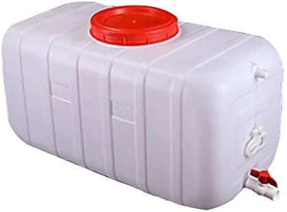 25-150L Blanc GMSX R/éservoir deau avec Robinet en Plastique /Épais R/écipient De Stockage deau Portable en Plein Air Seau deau Baril De Produit Chimique Baril Industriel