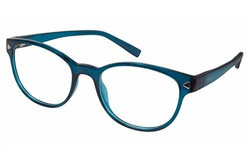 Esprit Women's Eyeglasses ET17536 ET/17536 508 Teal Full Rim Optical Frame - Glasses Esprit