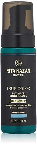 Rita Hazan Ultimate True Color Shine Gloss with New Package Design, Breaking Brass, 5 oz.