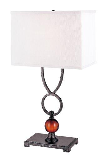 Trans Globe Glass Table Lamp - Trans Globe Lighting RTL-8503 Bronze Amulet Table Lamp, 30