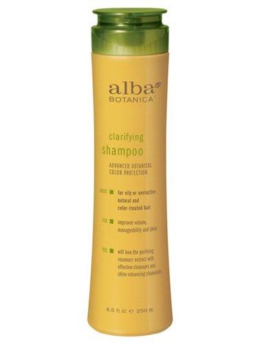Alba Botanica Clarifying Shampoo, 8.5 Ounce Bottles (Pack of 2)