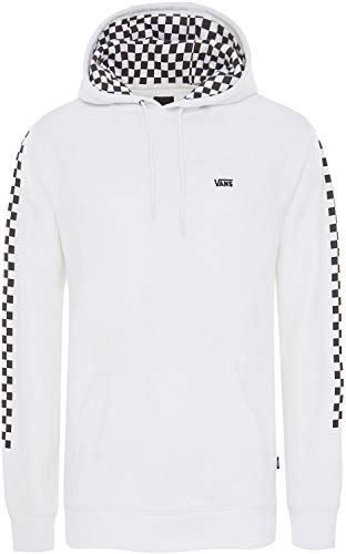 Vans Men's Versa Hoodie Fleece White/Checkerboard ()