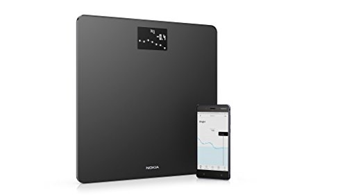 Nokia Body - BMI Wi-Fi Scale, Black
