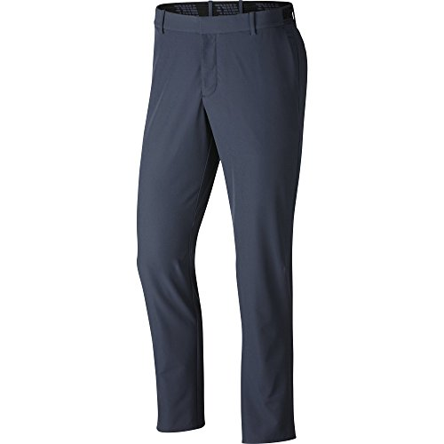 NIKE Men's Flex Slim Golf Pants, Thunder Blue/Black, Size 32/36