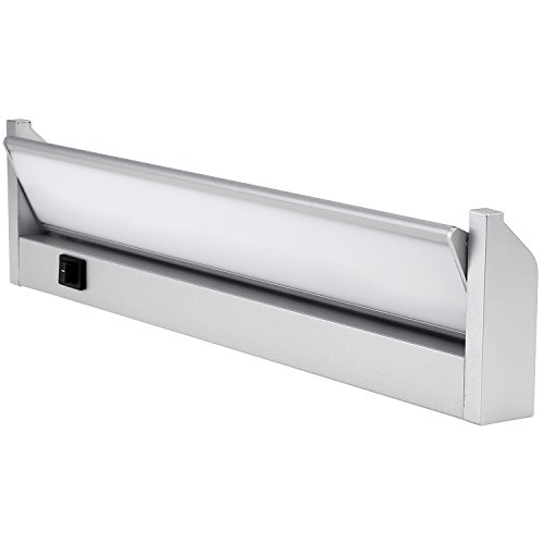 End Bearing Play (Multi-function LED Under Cabinet Lighting Fixture -Plug-In Installation- Angle Adjustable LED Mirror Light - Warm White - Shatterproof PC diffuser Aluminum Housing 120° Beam Angle for Cabinet, Bathroom, Accent Lighting)