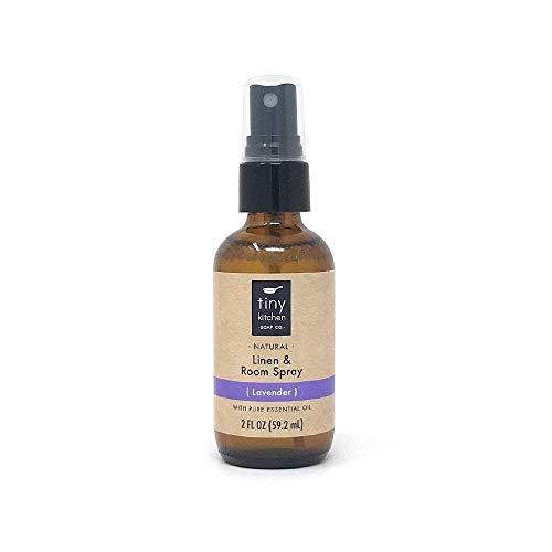 Lavender Essential Oil Linen and Room Spray - Handmade Natural Air Freshener (2 oz)