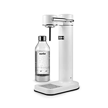 Image of AARKE - CARBONATOR II (PREMIUM CARBONATOR/SPARKLING WATER MAKER) (White) Home and Kitchen