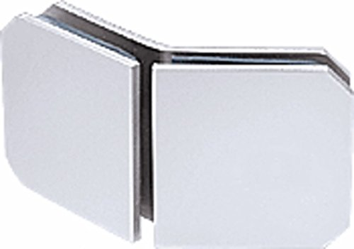 CRL Chrome Monaco Series 135 Degree Glass-to-Glass Clamp