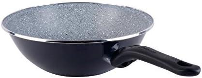 Megafesa Dolomiti dark grey colour 28cm diameter Wok