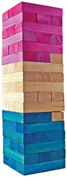 Giant 51 Piece Tumbling Tower by CIROA Watermelon Color Stacking Game for Kids /& Adults