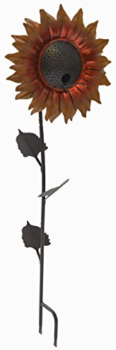 Desert Steel Sunflower Bird Feeder - Velvet Queen