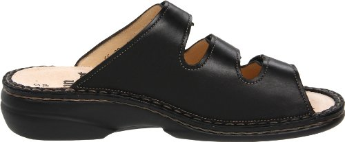 Women's Black Finn Black Menorca Soft Comfort Clogs 1f1qwBtp