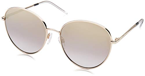 Tommy Hilfiger Women's TH1649S Round Sunglasses, Gold Black, 58 ()