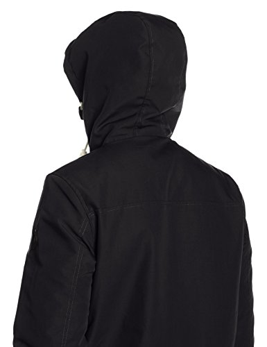 Jacket solid black Homme Rider Blouson Noir BPrdPqxn4