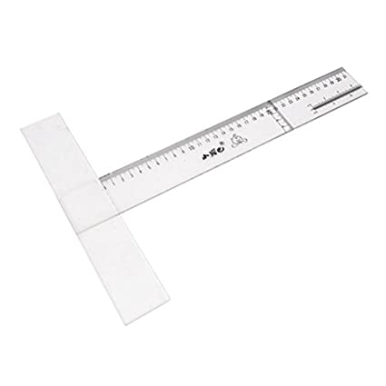 amazon ucland clear plastic t shape ruler school office Historic T Shapes ucland clear plastic t shape ruler school office measurement tool 31cm