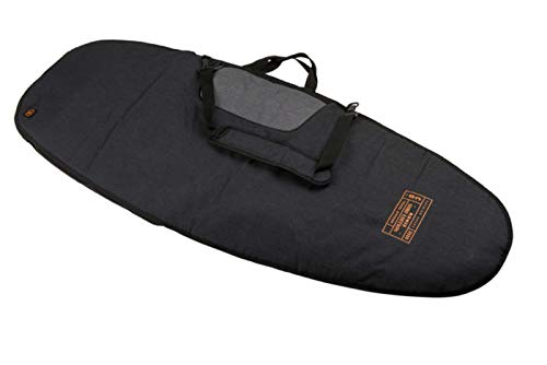 Ronix Dempsey Surf Bag - Heather Charcoal/Orange - up to 5'9 (2019)
