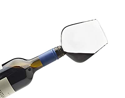 ChugMate Wine Glass Bottle Topper, The Goblet To Drink Straight From The Bottle