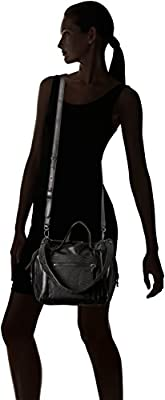 Liebeskind Berlin Women's Snakeskin and Studded Sporty Leather Satchel