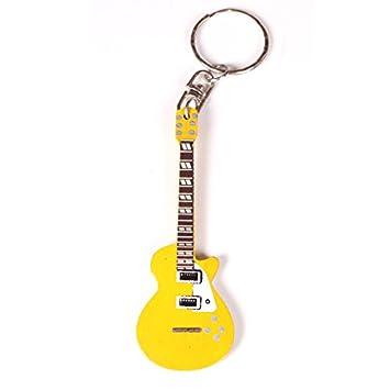Llavero de madera para guitarra en miniatura en diferentes ...