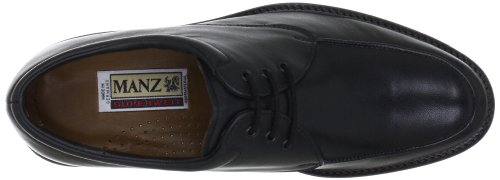 38 39 5 Up Homens 5 Ue Lace Eaton Derby Preto Preto Manz Uk Brogues 001 wvqzU77Rg
