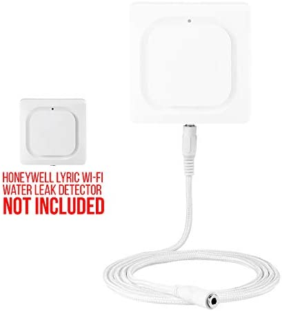 Wasserstein Water Leak Detector Extension and Replacement Cable Sensor Compatible with Honeywell Lyric Wi-Fi Water Leak Detector