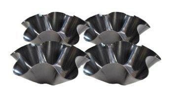 Tortilla Pan Set Non Stick Steel Set of 4 (Perfect Tortilla Pan compare prices)