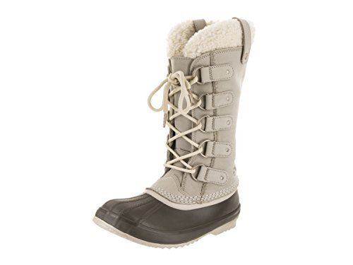 SOREL Women's Joan of Arctic Lux Shearling Boot Ancient Fossil/Sea Salt 9.5 B(M) US