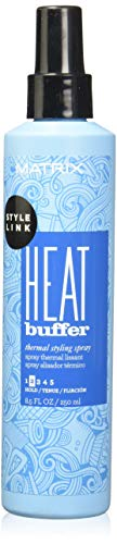 Matrix Style Link Prep Heat Buffer Thermal Styling Heat Protectant Spray, 8.5 Fl. Oz. (Packaging May Vary)