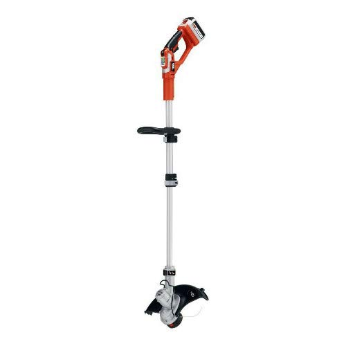 (Factory-Reconditioned Black & Decker LST136R-36V 36V Cordless Lithium-Ion 13 in. Straight Shaft Electric String Trimmer)