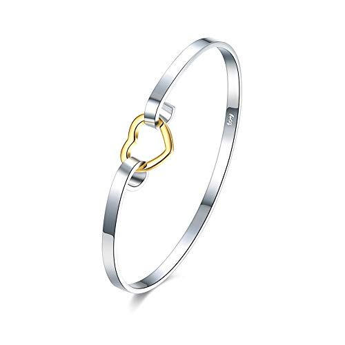 skyllc Plating Silver Love Couple Jewelry Bracelet Elegant Hand Chain Beautiful Accessories For Different Occasions -