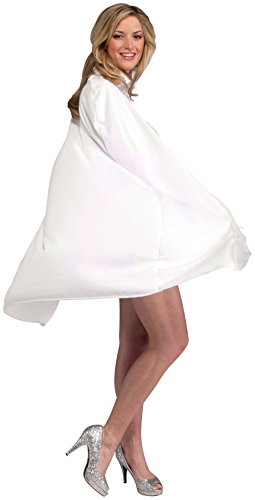Forum Novelties 45-Inch White Cape, White, One Size
