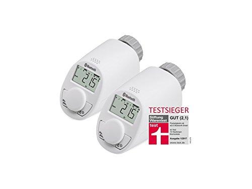 Radiador de cabezal de termostato EQ de 3 con Bluetooth, 2 unidades de Radiador de termostato: Amazon.es: Iluminación