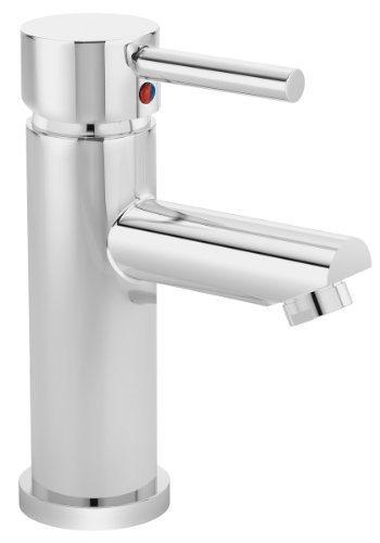 Symmons SLC-6000-G Identity Single Handle Centerset Metering Faucet with Grid Drain, 2.2 GPM, Chrome ()