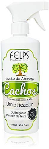 Cachos Umidificador de Cachos Azeite de Abacate 500G, Felps, 500ml