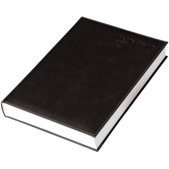 Castelli Restaurant Guest Booking / Reservation Diary. Suitable for Breakfast Lunch and Dinner Appointments. An attractive and practical diary, with space to facilitate up to 35 table bookings for lunch and dinner sittings. (Black)