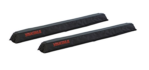 - Yakima - CrossBar Pads, Secure and Protect Boats and Boards from Damage, Round 20 inch