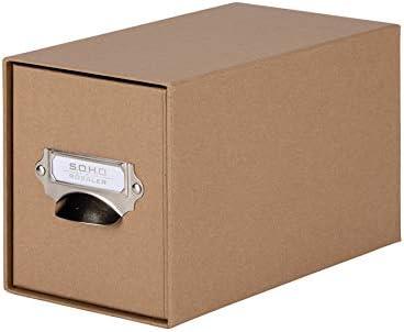 Rössler S.O.H.O. 1327452620 CD de cajones caja con mango, fuerza, 1 unidad: Amazon.es: Oficina y papelería