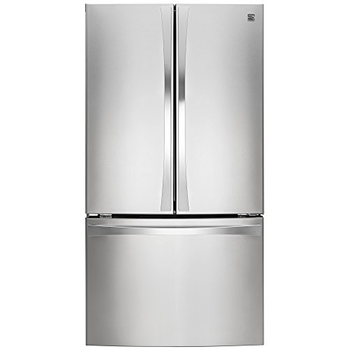Kenmore Elite 74013 30.6 cu. ft. French Door Bottom Freezer Refrigerator in Stainless Steel, includes delivery and hookup (Available in select cities only)