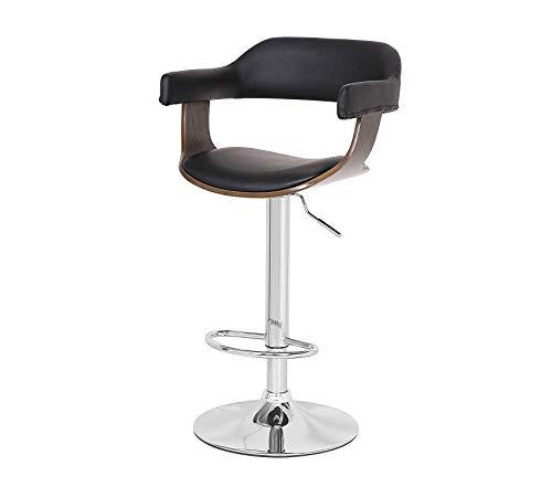 Wood & Style Office Home Furniture Premium Bar Stool, Weathered Oak 24' Oak Counter Stools