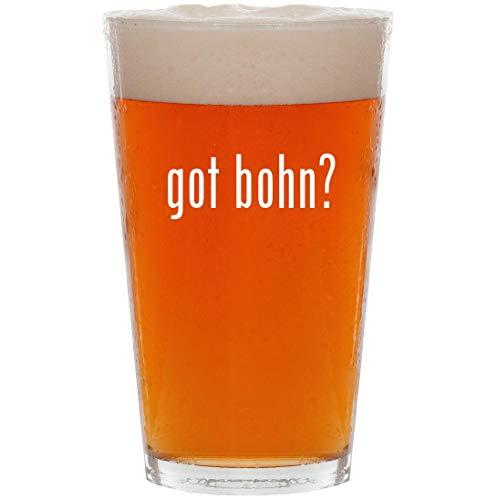 got bohn? - 16oz All Purpose Pint Beer Glass