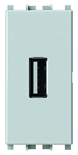 6 opinioni per 4Box 4B.V14.USB Presa USB 2.1 A Compatibile con Vimar Plana, 250 V, Bianco