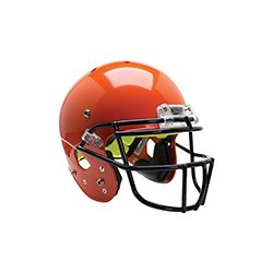 Schutt Sports Youth AiR Standard V Football Helmet with Grey ROPO-SW-YF Faceguard, White, Small