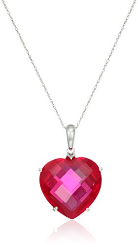 10k-White-Gold-Created-Ruby-Heart-Shape-Pendant-Necklace-18